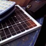 Монтаж видеонаблюдения на солнечных батареях