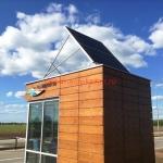 Монтаж солнечных модулей