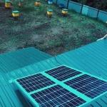 Видеонаблюдение на солнечных батареях