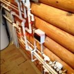 Отопление деревянного дома в с.Тарлаши
