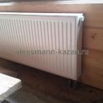 Отопление дома из клееного бруса