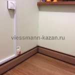 Электрический  теплый плинтус для отопления