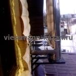 Пример монтажа вентиляции в деревянном доме